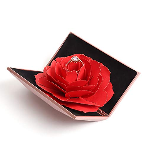Image result for 3d rose ring box