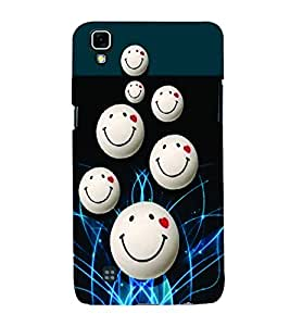 PrintVisa Romantic Love Smiley 3D Hard Polycarbonate Designer Back Case Cover for LG X Power