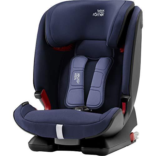 Britax Römer Kindersitz 9-36 kg, ADVANSAFIX IV M Autositz Isofix Gruppe 1/2/3, moonlight blue