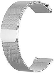 Liloee NEW Fashion Stainless Stee Mesh Belt Watch Band Strap Bracelet for Garmin Venu, Wearable Technology, El