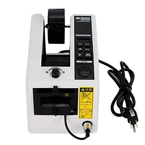 Vogvigo Dispensador de cinta automático, 7-50cm Dispensador de cinta de embalaje M-1000 Cinta adhesiva Cortador de corte