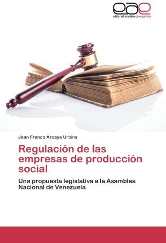 Regulación de las empresas de producción social