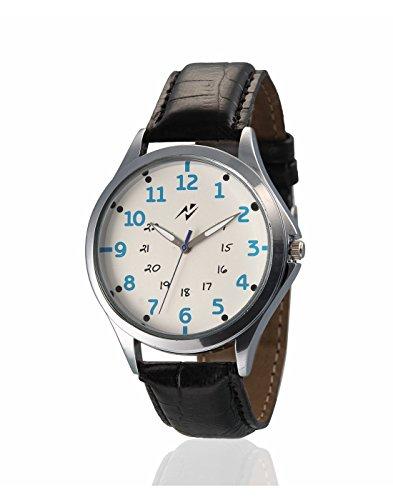 Yepme Redioz Men's Watch - White/Black -- YPMWATCH1630 image