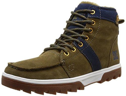 DC Shoes WOODLAND M, Stivaletti a gamba corta mod. Classics, senza imbottitura uomo, Multicolore (Mehrfarbig (Military MIL)), 40