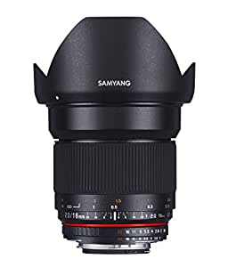 Samyang 16 mm / F 2.0 ED AS UMC CS Objectifs