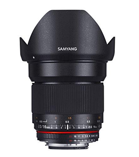 Samyang 16mm F2.0 Objektiv für Anschluss Micro Four Thirds