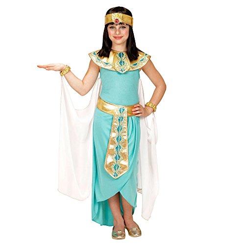 Imagen de widmann 49436–disfraz para niños egipcio reina, vestido, cinturón, pulseras, cinta y capa alternativa