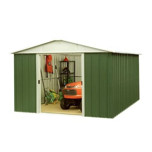 Belfast 9'4″ x 9'4″ GEYZ Apex Metal Shed With FREE Anchor Kit