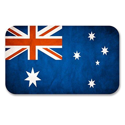 2x Australian Australien Flagge Vinyl Aufkleber Aufkleber Laptop Reise Gepäck Auto Ipad Schild Fun # 6196 - 10cm/100mm Wide