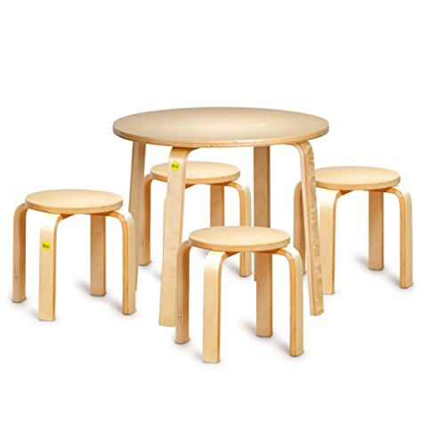 Erzi Sitzgruppe 52 Formholz Kinder Stuhl Tisch Therapie Sitzen Hocker Holz