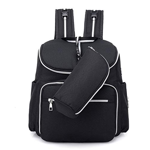 Windel Rucksack Serria® Mutterschaft Tasche Große Multifunktionsrucksack mit USB-Anschluss,Milchflaschenbeutel können Flaschen, Baby Kleidung, Windeln, milchpulver Boxen, tassen, Stoffe