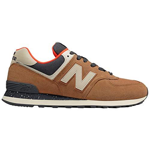 New Balance Herren 574v2 Sneaker, braun, 53