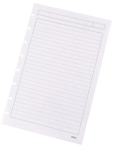 Refill-Papier liniert f.arc Spiralbuch weiß A5 100g 50 Blatt 22018 Notizbuch-refill-papier