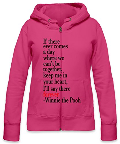 If There Ever Comes A Day Slogan Womens Zipper Hoodie X-Large