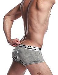SEOBEAN Trunk Boxer Slip Sous-vêtements Bref Homme