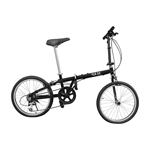 Mec Technology 6 Gear Black Color Folding Bicycle(Ride 3.0)
