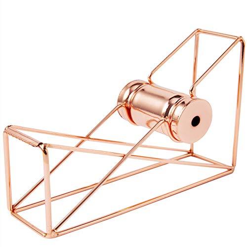 Dispensador cinta escritorio - Oro rosa Hierro forjado