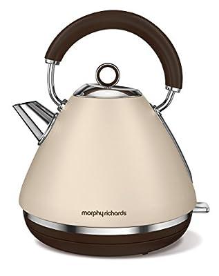 Morphy Richards 102101 Accents Special Edition Bouilloire électriques, 2200 W, 1.5 liters, Sable