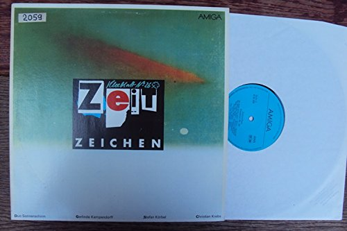 Zeitzeichen. Kleeblatt No. 26. Duo Sonnenschirm, Gerlinde Kempendorff, Stefan Körbel Christian...