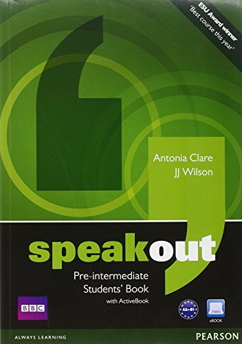 Speakout. Build up to pre-intermediate. Student's book-Workbook-MyEnglishLab. Con espansione online. Per le Scuole superiori