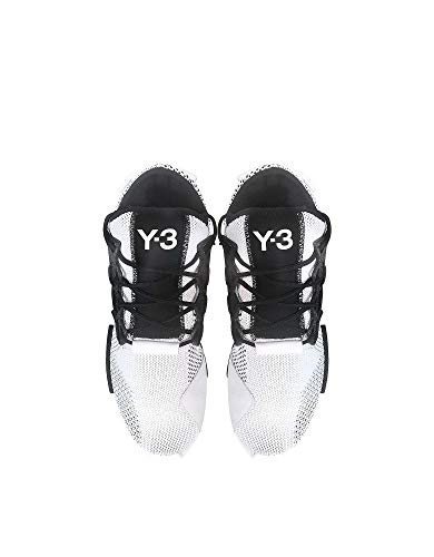 best value 40904 51e22 adidas Y-3 Yohji Yamamoto Sneakers Uomo Bc0902 Tessuto Bianco