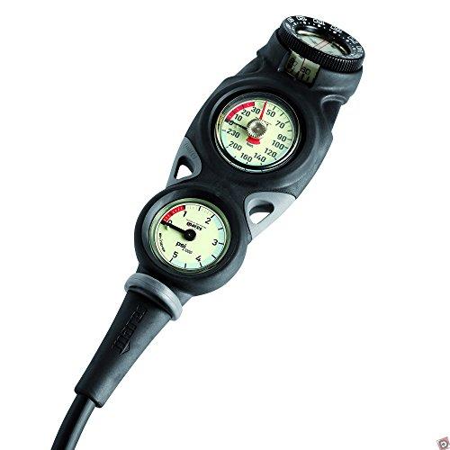 MARES - 414419IN/392 : Consola con barometro, profundimetro y brujula