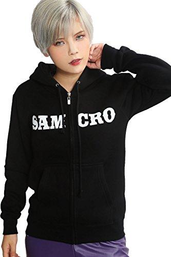 Samcro Kostüm - Cool Samcro Cosplay Kostüm Zip Hoodie
