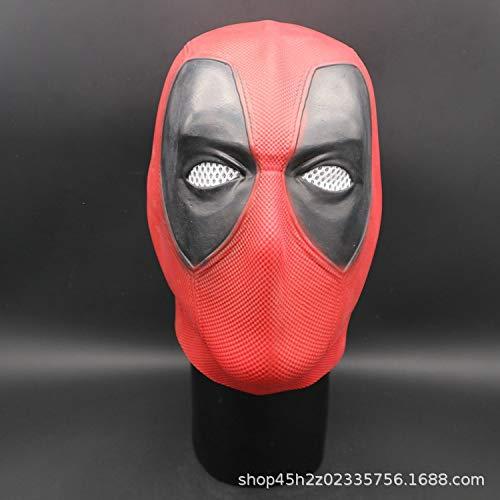 (Lanyifang Deadpool Maske Kostüm Kopf Gesicht Helm Film Cosplay Prop)