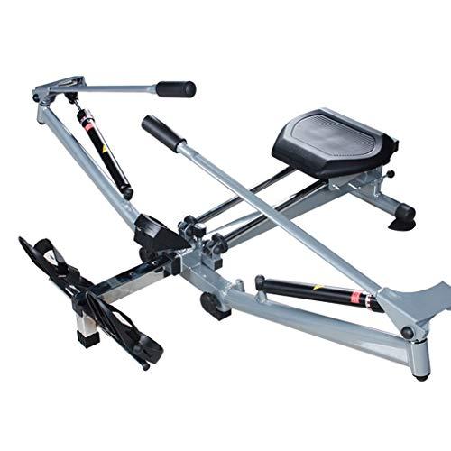 Máquinas de remo Modelo Concept 2 d hidráulica Plegable Equipo de Fitness for Ejercicio de Cuerpo Completo for niña (Color : Black, Size : 139 * 49 * 45cm)