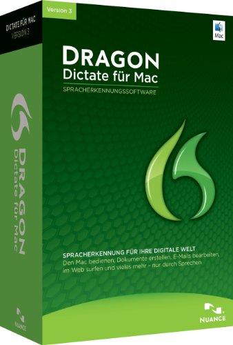 Dragon Dictate 3 für Mac