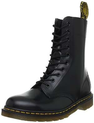 Dr. Martens 1490, Boots mixte adulte - Noir (Black Smooth), 36 EU (3 UK)