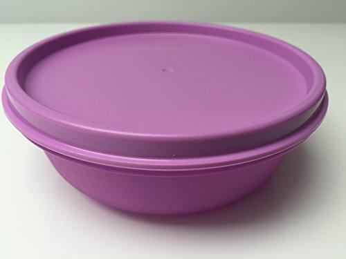 Tupperware Hitparade verschiedene Farben 300ml Dose mit Deckel auslaufsicher (lila) Großes Tupperware Salat Schüssel