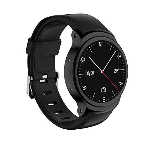 ZLOPV Fitness Armband I3 Android 5.1 Sport Smart Watch Männer 1,5 Zoll Display MTK6580 1 GB + 16 GB 3G WiFi GPS SmartWatch wasserdicht IP67für KW88 H5 X200, schwarz