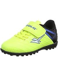 Gola Talos Vx Velcro, Chaussures de Football Mixte Enfant