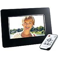"Intenso Photo Agent Plus 7"" Black digital photo frame - Digital Photo Frames (17.8 cm (7""), 800 x 480 pixels, TFT-LCD, 400:1, 16:9, JPG)"