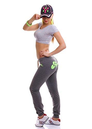 Vivo Modo - Pantalon de sport - Femme blanc Weiß L Corail