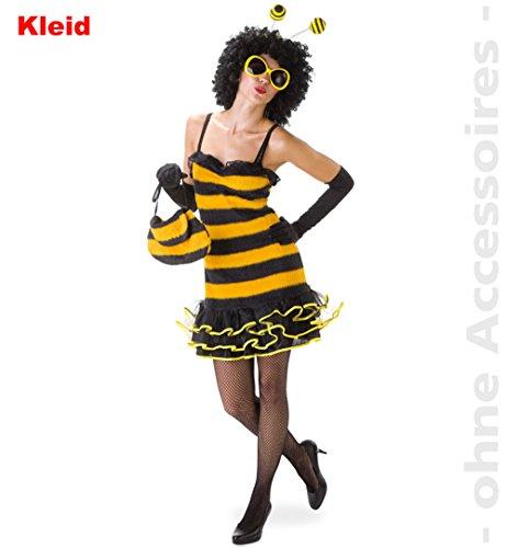 Kostüm Sexy Marie - Unbekannt PARTY DISCOUNT ® Damen-Kostüm Sexy Biene, Kleid, Gr. 42