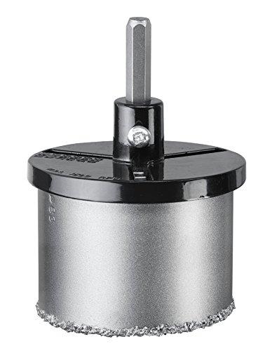 kwb Lochsäge-Set 6-teilig - mit 4 Größen, HM bestreut - inkl. - Zentrierbohrer und Aufnahmeteller