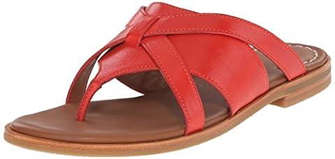 Johnston & Murphy Women's Lynette Dress Sandal, Red, 8.5 M US