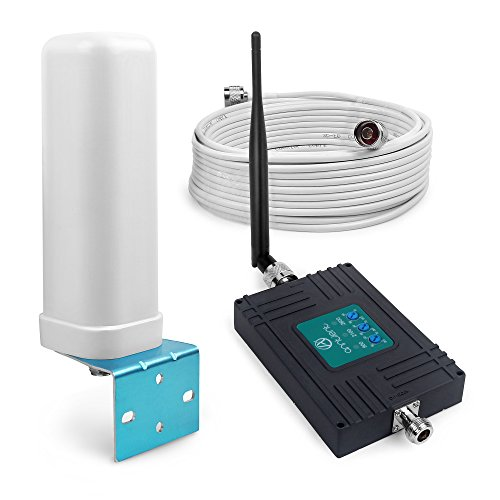 ANNTLENT Handy Signal Booster für O2, Vodafone, T- Mobile, E- Plus, 900/2100/2600 MHz Band 8, Band 1, Band 7 GSM Repeater 3G LTE 4G Verstärker Signalverstärker Band-gsm-handy