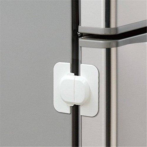 Preisvergleich Produktbild Saver 1pcs Kunststoff Kleinkind Kind Baby Kind Kühlschrank Tür Fenster Schubladenschrank Cabinet Sichere Möbel Schützen Sperre