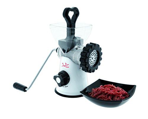 Jata Hogar 998 - Picadora manual de alimentos, color blanco