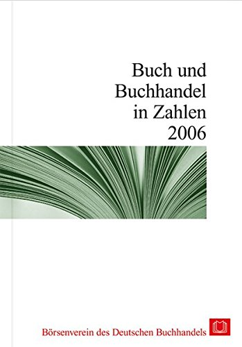 Buch und Buchhandel in Zahlen 2006