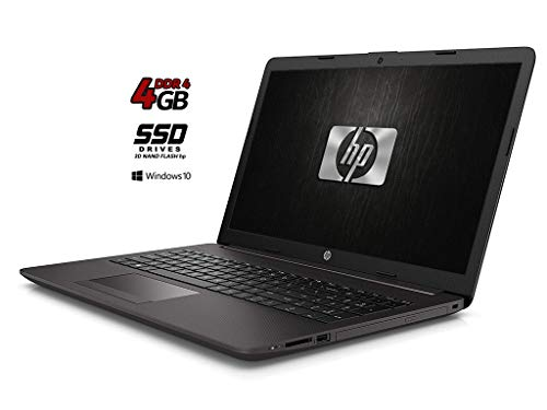 HP 255 G7 Notebook PC, SSD NAND 3D da 250GB, Display da 15.6', Amd A4 64bit da 2,6 GHz, 4 Gb DDR4, Bt, WIFI, Dvd-Cd rw, 3 usb [Layout Italiano] Win10 Pro, Open Office, Pronto All'uso, Gar. Italia
