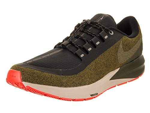 Nike Air Zoom Structure 22 Shield Water-Repellent olive flak/black/string/metallic silver