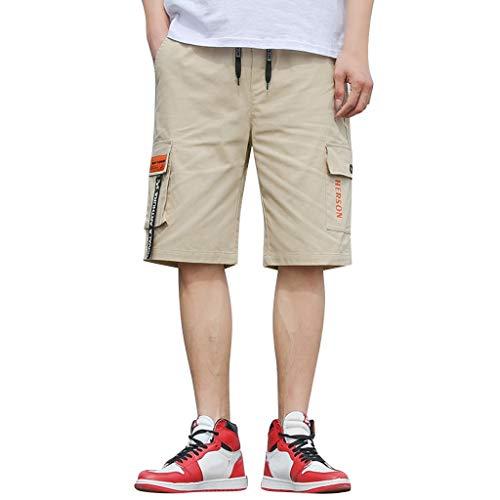 friendGG❤Herren Sommer Mode Fittings Shorts Bequeme Shorts Shorts Fitness-Hosen Shorts Hosen Outdoor-Shorts Hosen Knickers Höschen Breechcloth Scanties Short Pants Arbeitskittel