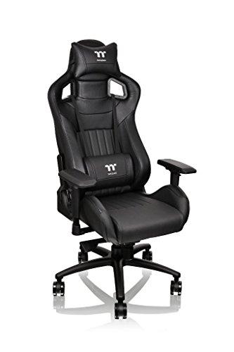 Tt eSPORTS X-Fit Premium 100 Gaming Chair - GC-XFS-BBMFDL-01, black
