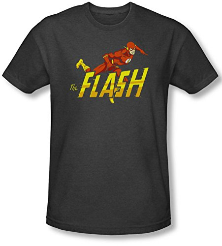 Dc - Herren 8-Bit-Flash-T-Shirt Charcoal