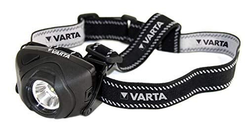 Varta Lampe frontale 'Indestructible LED 1W', avec 3x AAA Micro