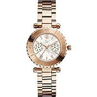 Guess Reloj Analógico para Mujer de Cuarzo con Correa en Acero Inoxidable X35011L1S de Guess